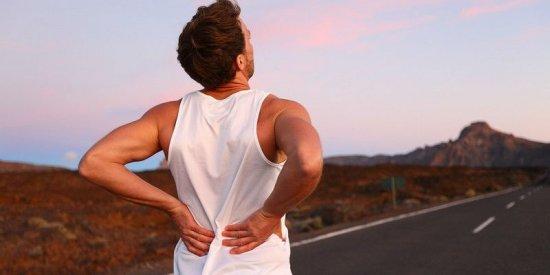 Боль в спине после бега