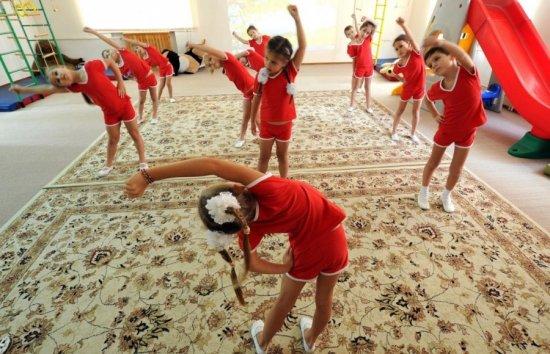 Гимнастика после дневного сна в подготовительной группе