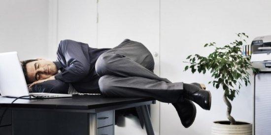 Сон в перерыве на работе