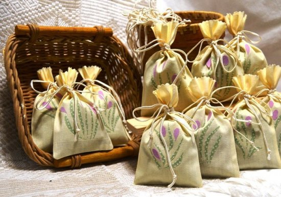 Мешочки с успокоительными травами