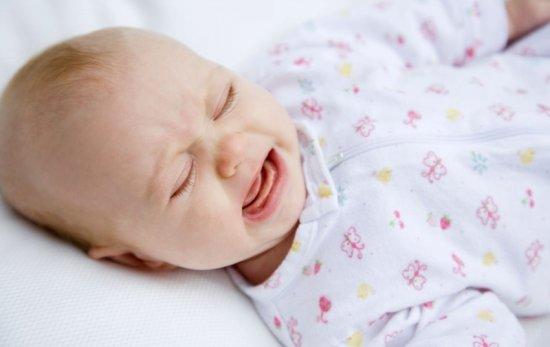 Плач ребенка во сне