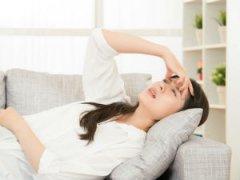 Усталость у женщины